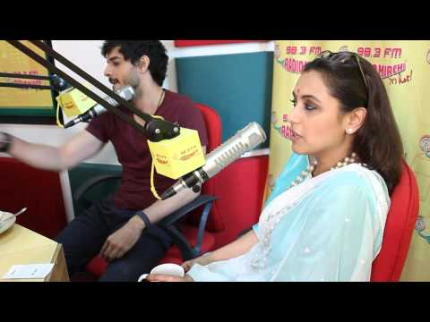 Rani Mukherji and Tahir Raj Bhasin celebrating the success of 'Mardaani' at the Radio Mirchi Studio Mp3