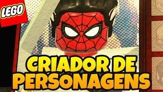 LEGO MARVEL SUPER HEROES 2 - Criando Personagens da Galera 01  MEGA EPISDIO ESPECIAL GIGANTE