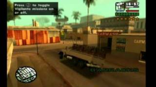 San Andreas - Spiderman Mod (PS2)