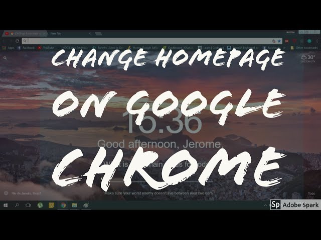 How to Set Your Home Page On Edge, Firefox and Chrome | Ubergizmo