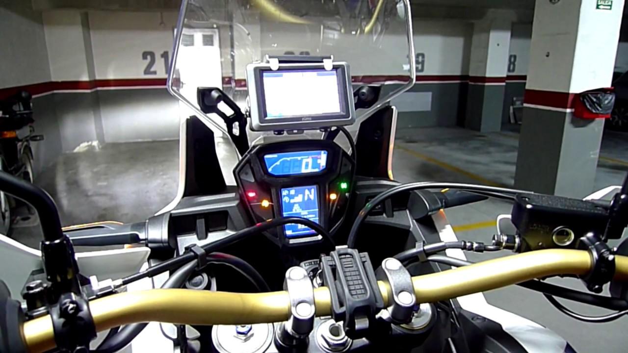 COMO MONTAR GPS TOURATECH EN HONDA AFRICA TWIN CRF 1000 ...