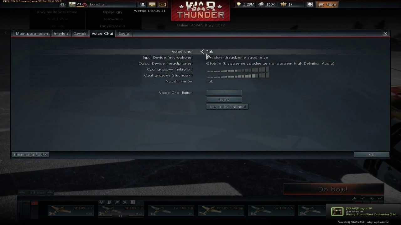 war thunder voices