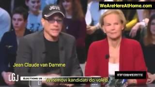 Jean Claude Van Damme hovořil jak rodiny Rothschildů a Rockefellerů kontrolují politiky