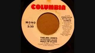 THELMA JONES I
