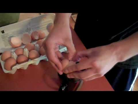 The Ultimate Protein Shake - Raw Eggs!