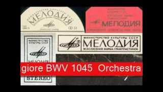 Sinfonia BWV 1045