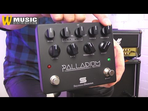 Seymour Duncan Palladium Gain Stage Pedal - Review