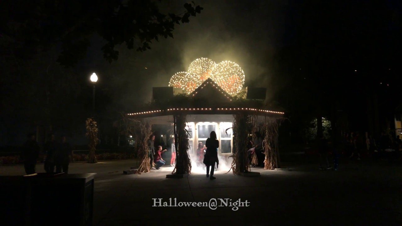 Halloween@Night at Gilroy Gardens - YouTube