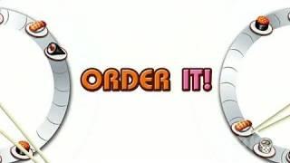Sushi Go Round Nintendo DS Trailer - Debut Trailer