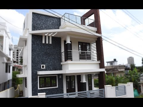 Kakkanad, 2.8 cents plot and 1400 sq ft, contemporary house (SOLD)