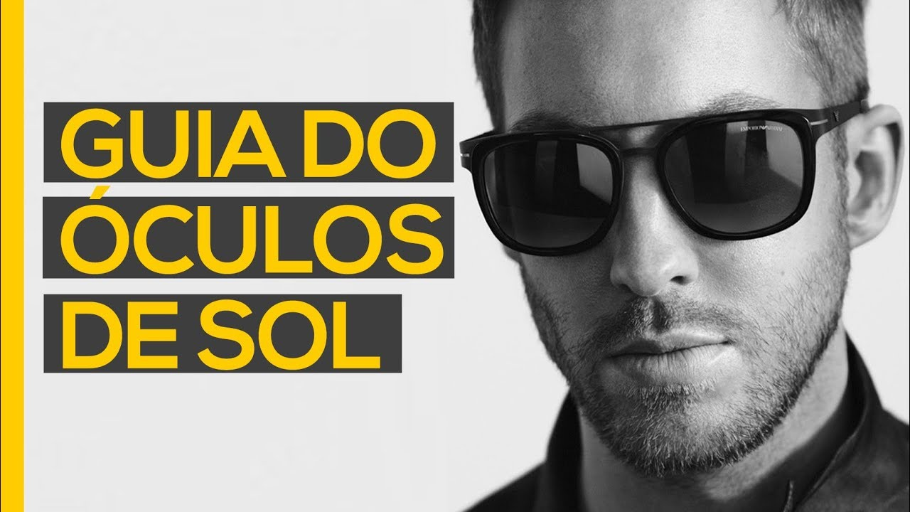 53b9b9090e013 ⚫ Óculos de sol masculino  O Guia Definitivo - YouTube