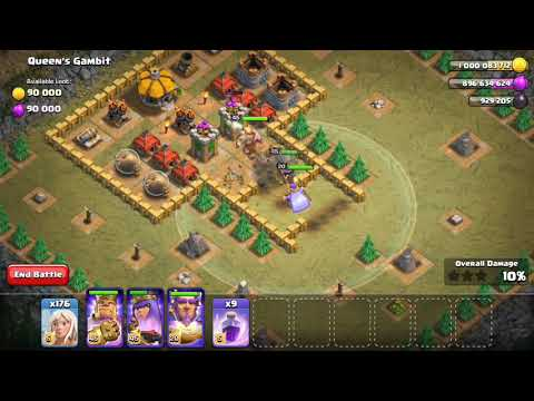 Clash Of Clans - Queen's Gambit | Single Player Attack Strategy In Campaign Map