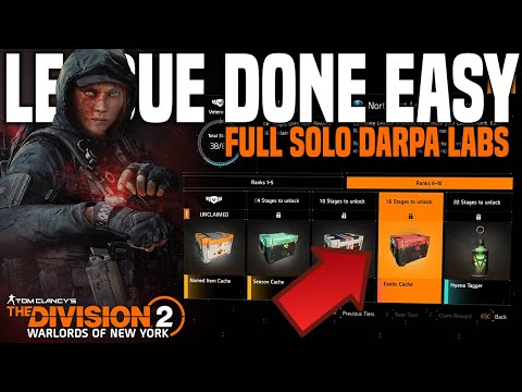 The Division 2 | NEW League! Complete It EASY! Full Solo Darpa Labs Heroic