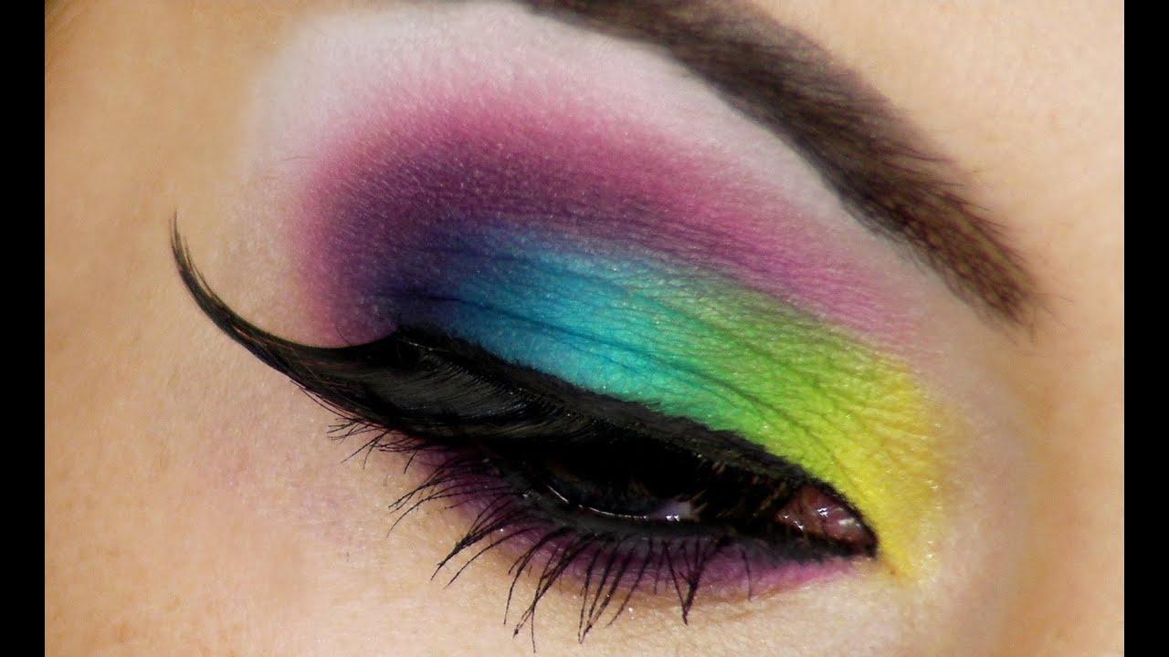 Colorful eye makeup tumblr
