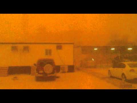 sandstorm at riyadh