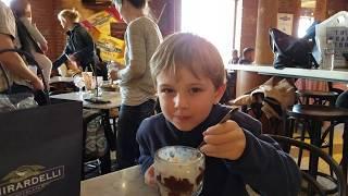 Ghirardelli Square Ice Cream Sundae