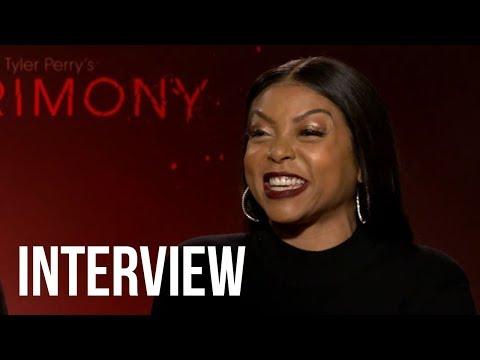 Acrimony Star Taraji P. Henson Does SPOT ON Cardi B Impression & Cast Plays Emoji Game