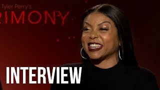 Acrimony Star Taraji P. Henson Does SPOT ON Cardi B Impression & Cast Plays Emoji Game