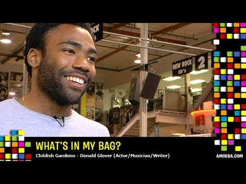 Childish Gambino (Donald Glover) - What's In My Bag?
