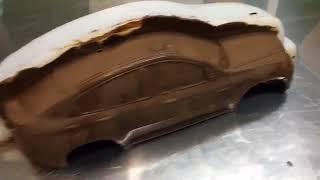 Аветорт - торт в виде машины из шоколада