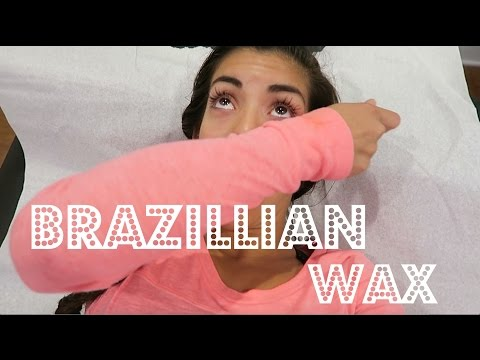 MY FIRST BRAZILIAN WAX