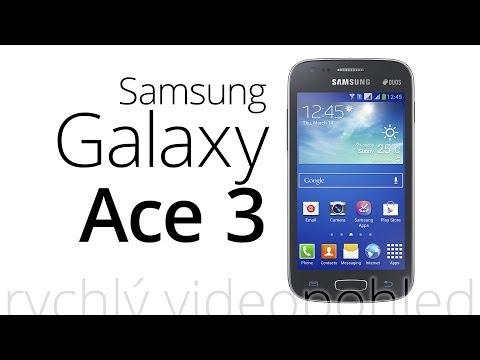 Samsung Galaxy Ace 3 (rychlý videopohled)