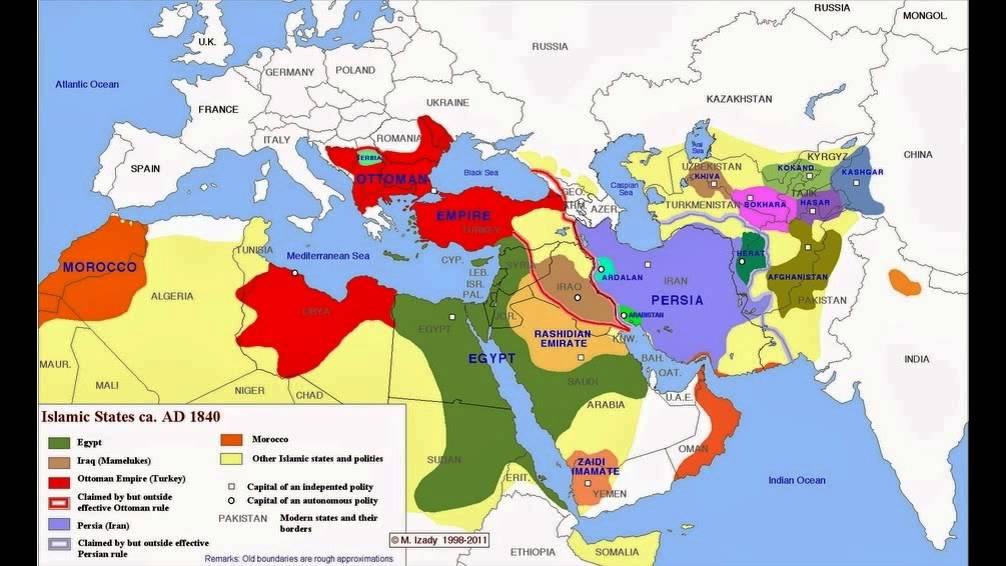 خريطة العالم الإسلامى منذ عام 1450 و حتى 2000 Youtube