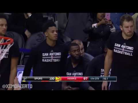 San Antonio Spurs vs Atlanta Hawks   Full Game Highlights   January 1, 2017