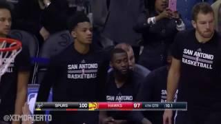 San Antonio Spurs vs Atlanta Hawks   Full Game Highlights   January 1, 2017