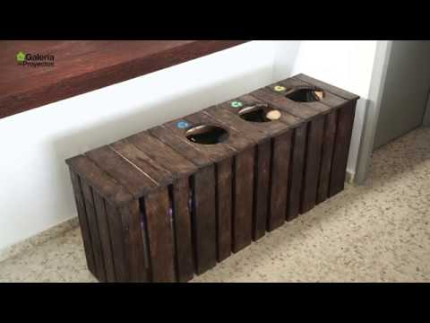 Bricomania El Cubo De Basura De Palets De Alejandro Leroy Merlin