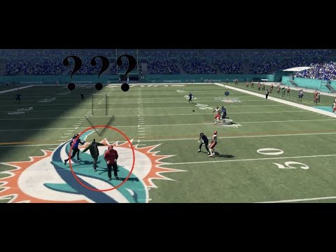 Madden 18 NOT Top 10 Plays of the Week Episode 8 - Coaches on the Field in the Middle of the Play?