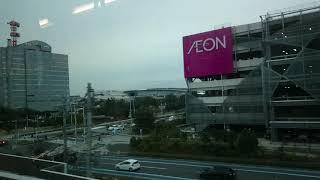 【たぶん快速通過だと思う】JR京葉線 新駅建設区間 海浜幕張~新習志野駅間の車窓動画を撮影しました