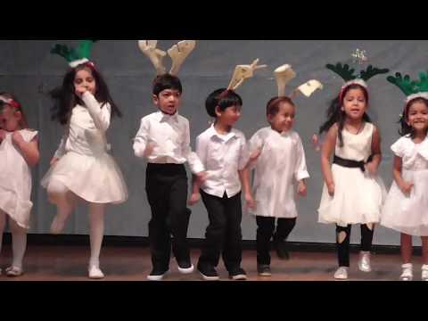 Go Go Christmas - Valley Montessori Preschool - Snithik's performance for Holidays