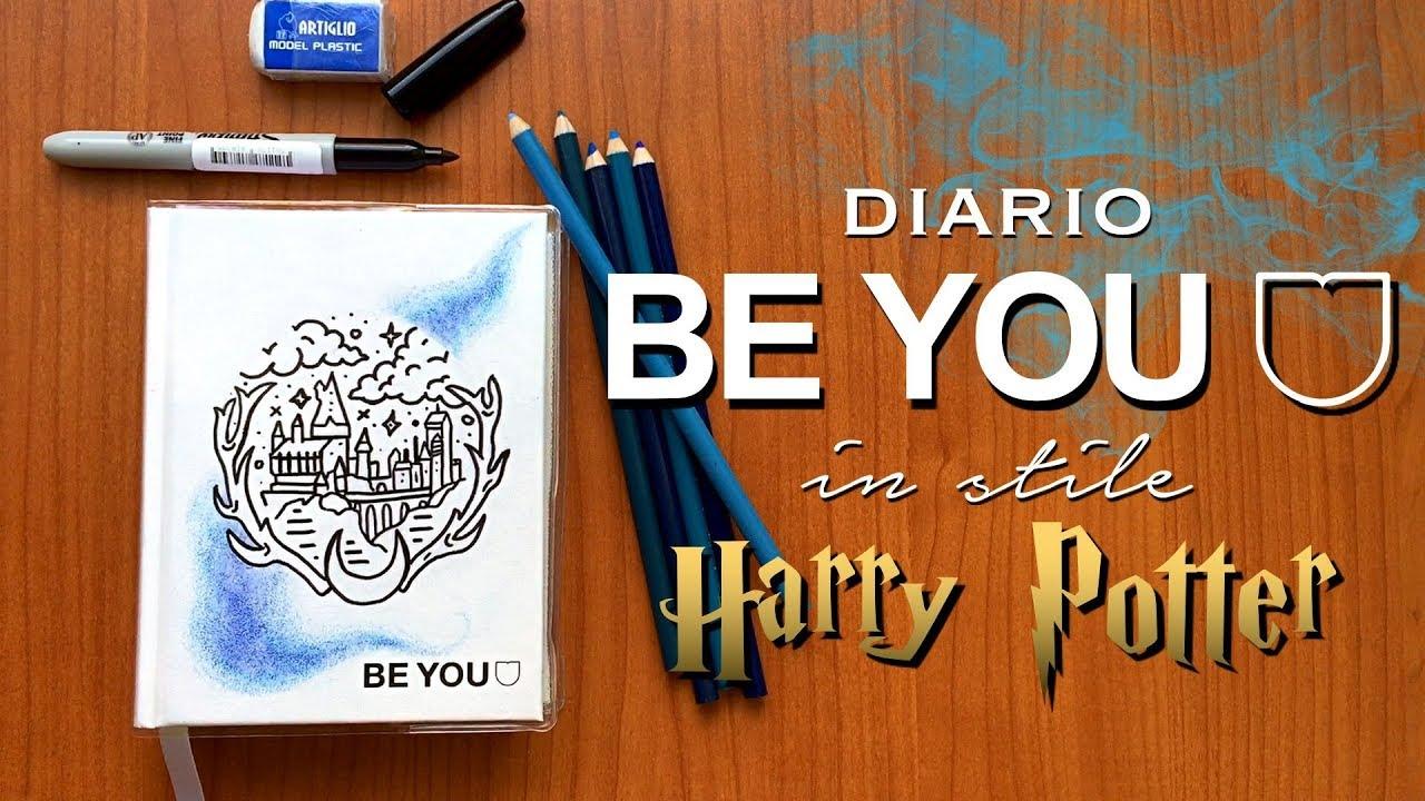 backtoschool , 📖⚡ DECORIAMO il DIARIO BE YOU in stile HARRY POTTER ⚡ 📖