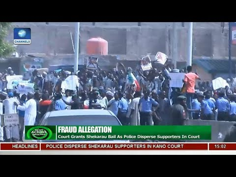 Court Grants Shekarau Bail As Police Disperse Supporters | News Across Nigeria |