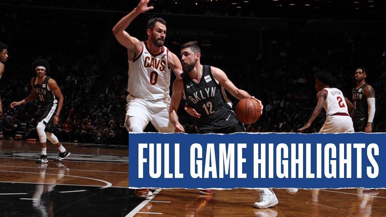 Download Brooklyn Nets vs Cleveland Cavaliers Full Game Highlights - January 20, 2021 NBA Season