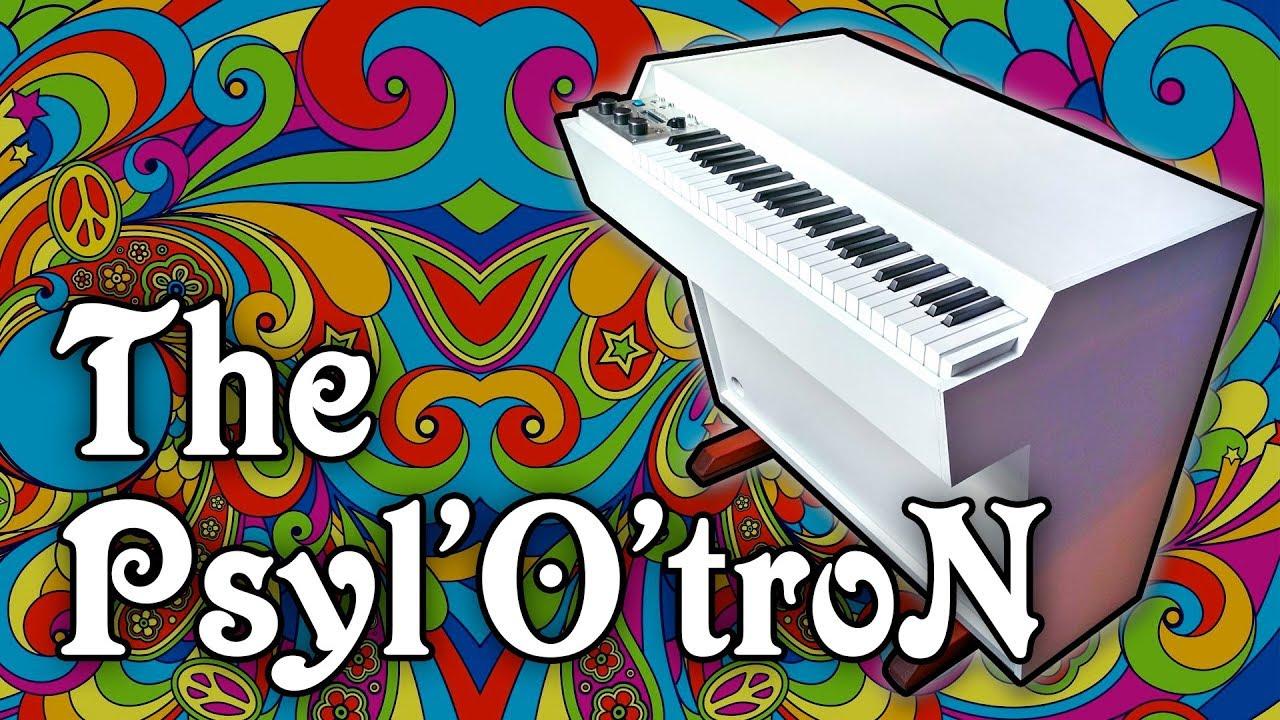 The PSYLOTRON: a Mellotron M400 Hybrid Replica
