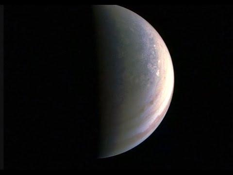 NASA reveals first photos from Jupiter's Juno spacecraft