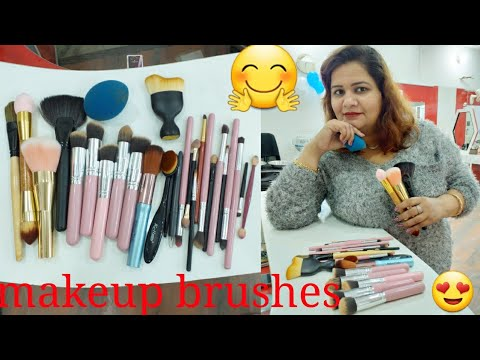 how to use makeup brushesin hindiso simple way  youtube