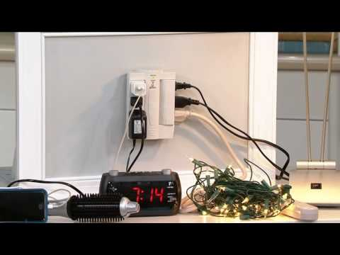 Set of 2 6-Outlet Surge Protection Swivel Outlets by Globe on QVC