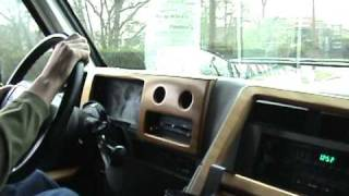 Chevrolet G20 Conversion Van Start Up and Test Drive
