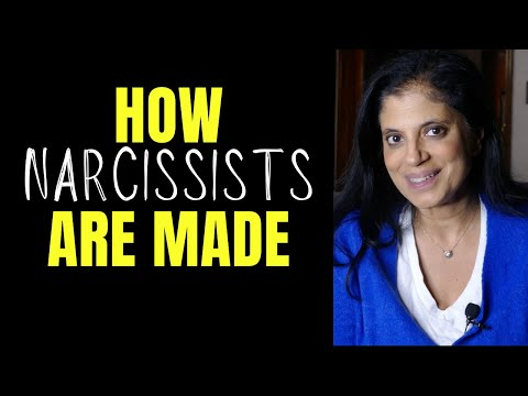 How narcissists are made