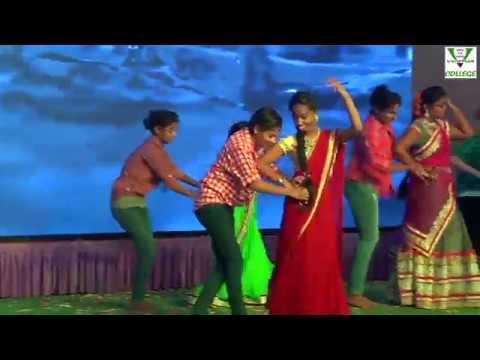 vijetha's samskruti 2016-17 Chinuku Chinuku by bhavani & grouop 3year