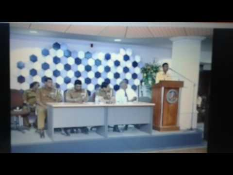 Surath Chamara Widanapathirana - A Farewell Speech - Police Office, Colombo, Sri Lanka.( Part 3 )