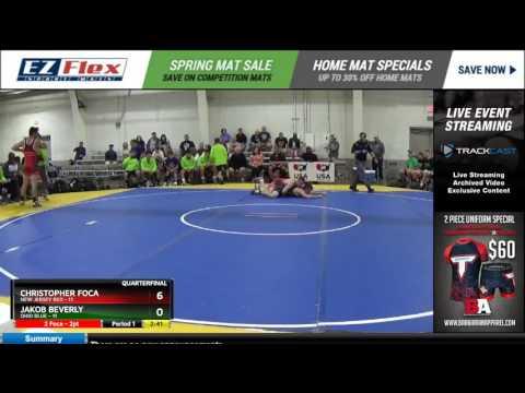 170 Christopher Foca New Jersey Red vs Jakob Beverly Ohio Blue 8387394104