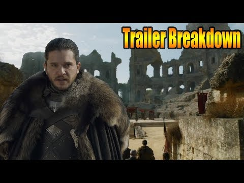 Game Of Thrones Season 7 Finale Trailer Breakdown & Easter Eggs