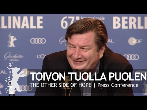 Toivon tuolla puolen  Press Conference Highlights  Berlinale 2017