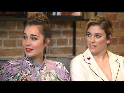 Las actrices protagonistas presentan 'Las chicas del cable'