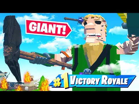 GIANT DEATHRUN *INSIDE* DEFAULT SKIN (Fortnite)