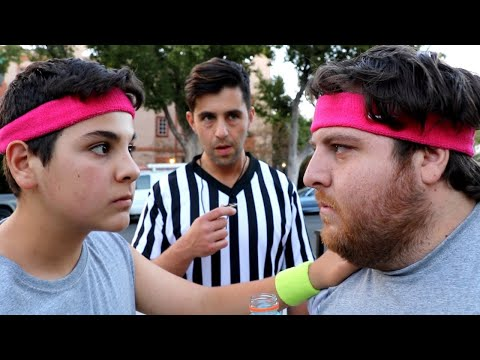 BROTHER VS BROTHER FITNESS CHALLENGE!